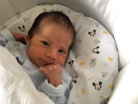 Alessandro Benvenuto Alessandro. Il bimbo è nato all'ospedale Del Ponte il 2 febbraio 2020