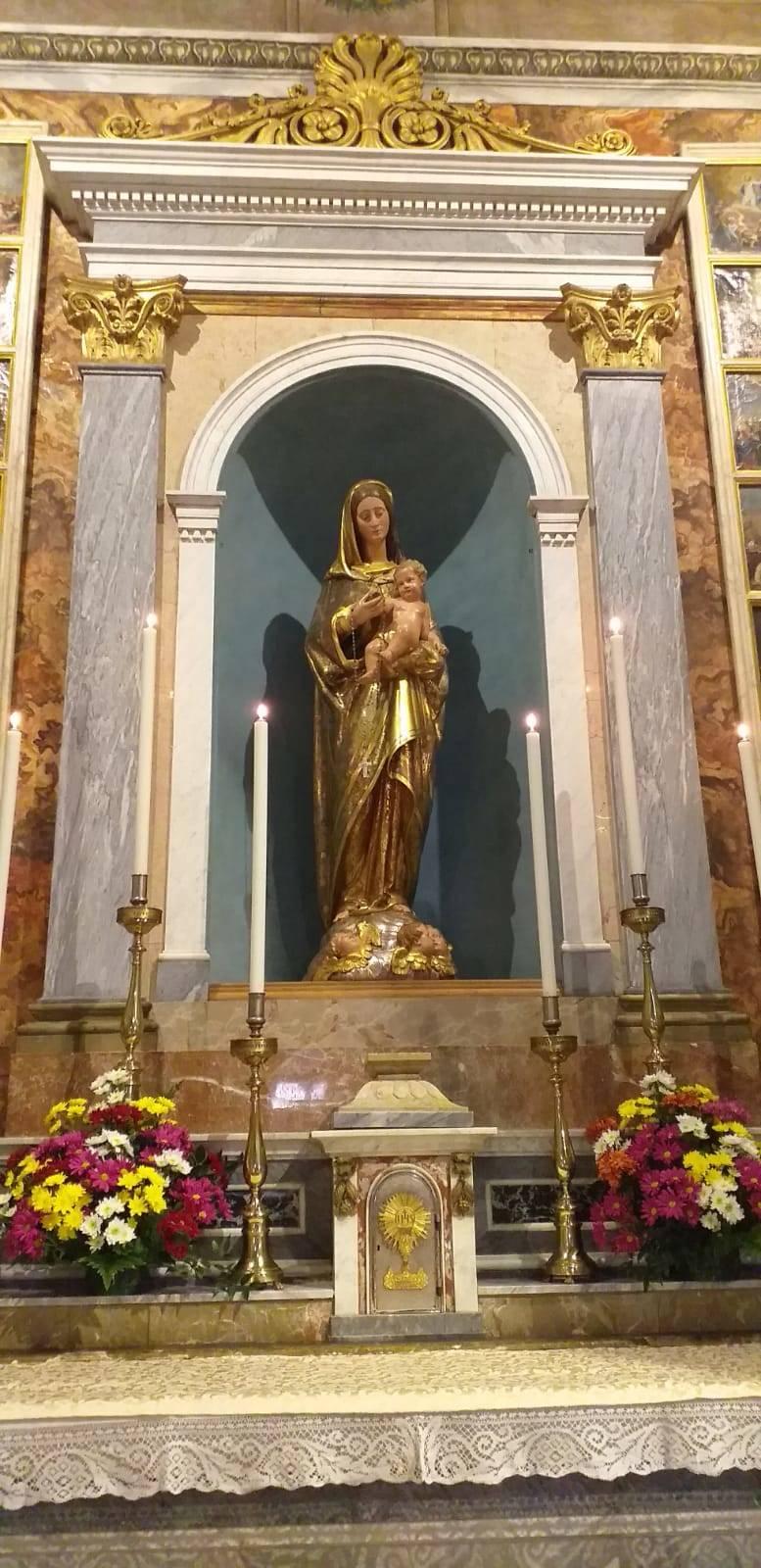 La Madonna restaurata