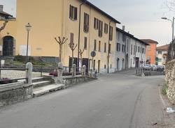 La via Pietro Maletti a Cocquio
