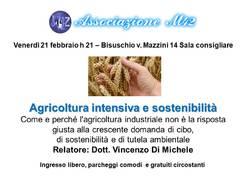 Agricoltura intensiva e sostenibilità
