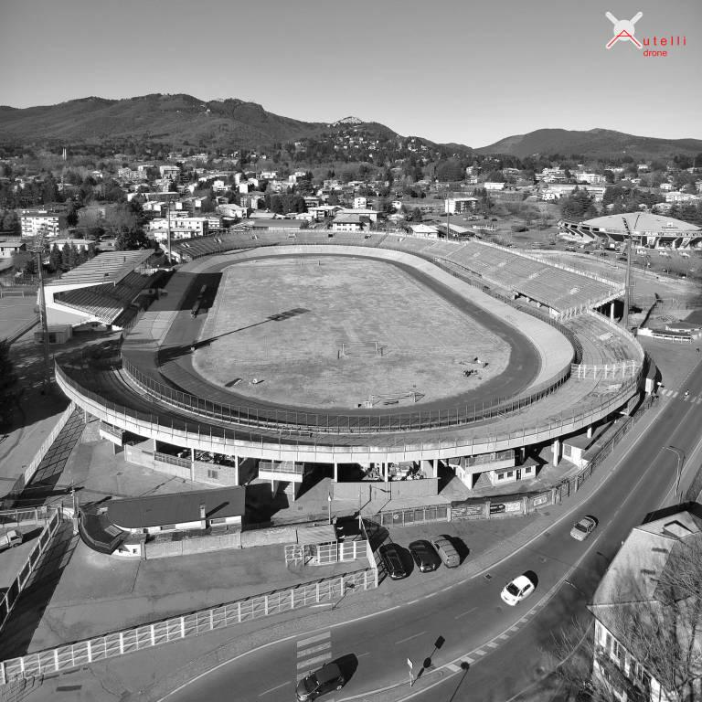"STADIO \""Franco Ossola\"" dal drone"
