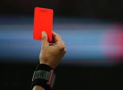 cartellino rosso arbitro