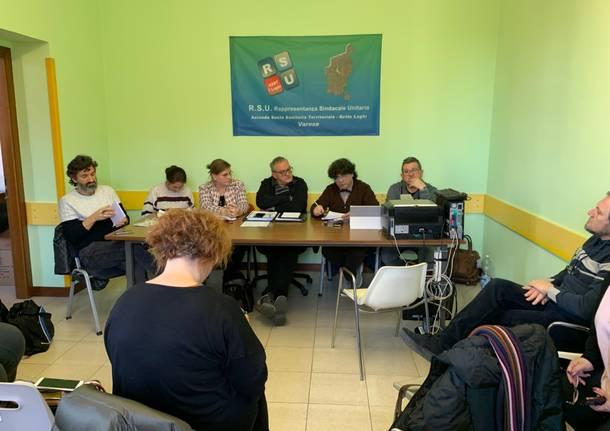 conferenza stampa sindacati