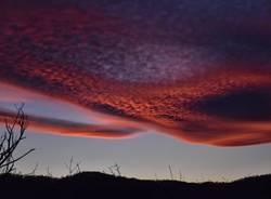 Cuasso al MOnte - tramonto 20 febbraio 2020 - foto di Andrea Betti