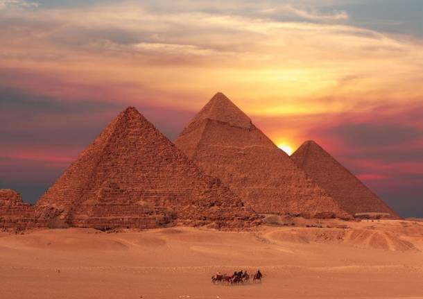 da Malpensa all'Egitto