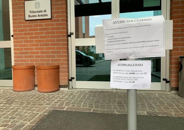 disposizioni coronavirus tribunale busto arsizio