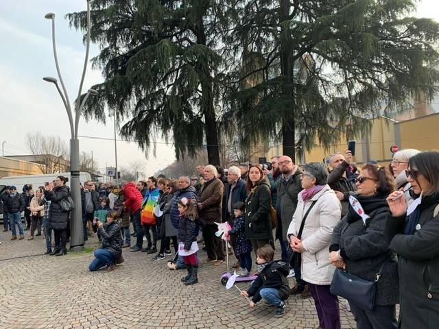 Flashmob sardine a Legnano