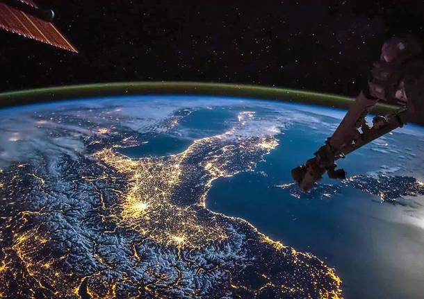 italia spazio stazione spaziale