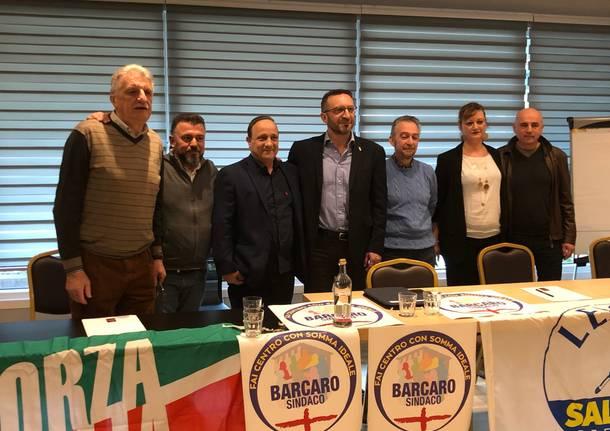 Elezioni Somma Lombardo centrodestra