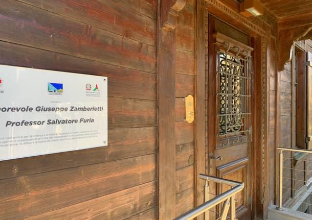 Il Centro geofisico prealpino nella dacia di Villa Baragiola