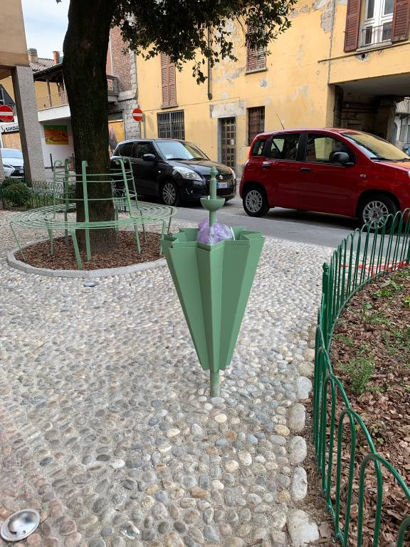 Il giardinetto di Liala a Varese