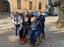 """Il sindaco di Casciago Mirko Reto """"disabile"""" per un giorno"""