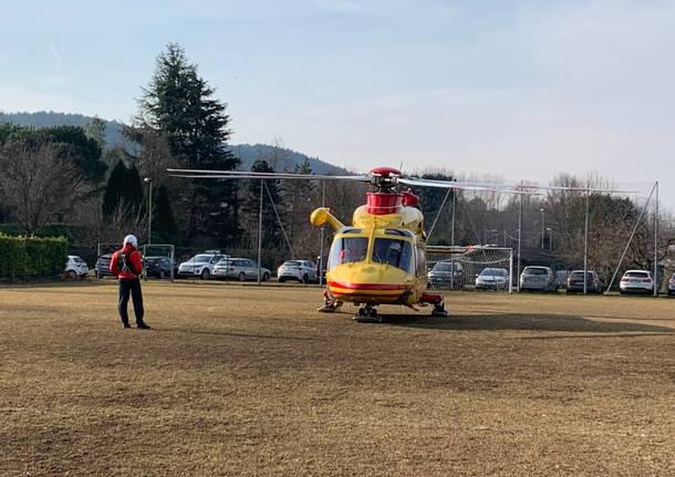 Inaugurazione Campo di atterraggio elisoccorso Inarzo
