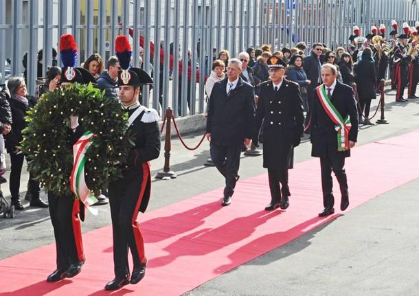 Inaugurata la nuova caserma dei Carabinieri di Busto Arsizio