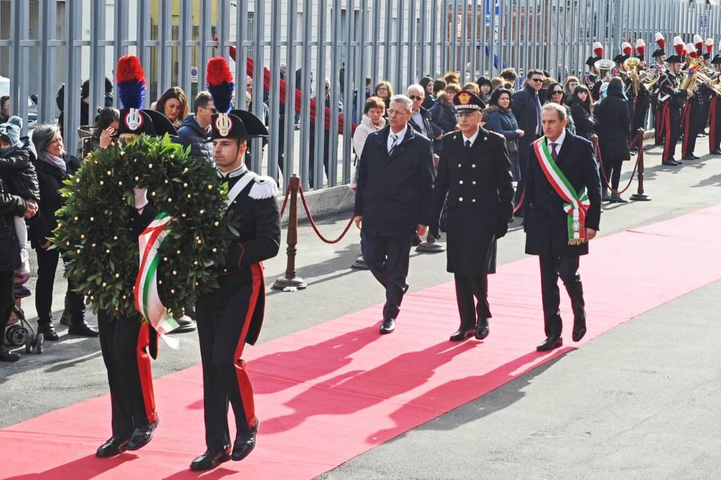 inaugurazione caserma carabinieri busto arsizio