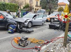 incidente frontale germignaga