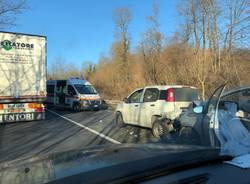 Incidente Sp 57 gazzada schianno