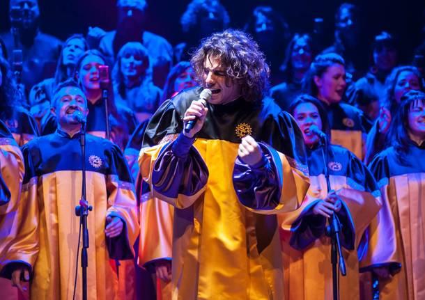 italia's got talent Sunshine Gospel Choir - riccardo guidotti