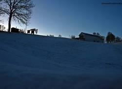 Neve alla Forcora (14 febbraio)