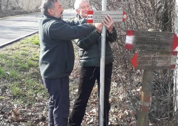 Nuova segnaletica al Parco delle Groane