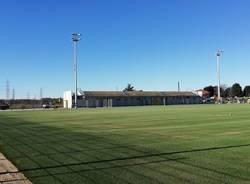 Nuovo centro sportivo a Cislago, lavori quasi ultimati