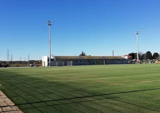 Cislago: il nuovo centro sportivo è quasi pronto