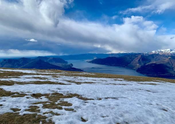 panorama lago maggiore inverno 2020 monte lema elena de vincenti