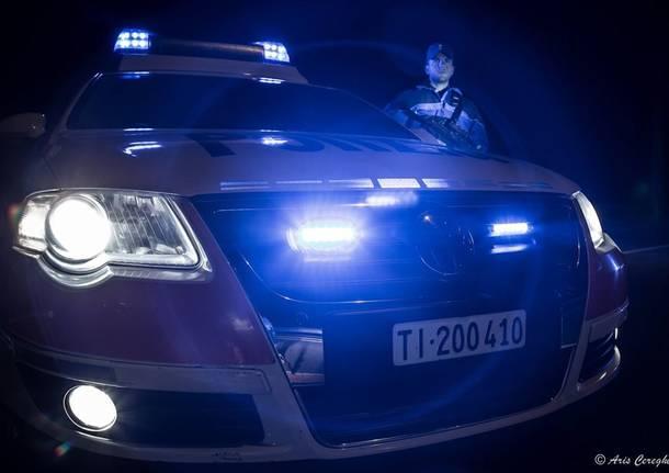 polizia cantonale notte