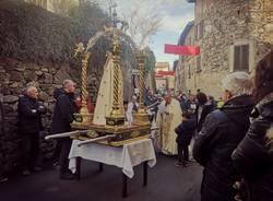 Processione Candelora a Fabiasco
