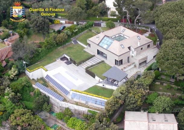 Sequestrata villa ad Arenzano