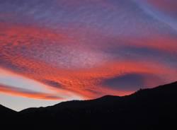 Tramonto in Valceresio - foto di Alessia Aurecchia