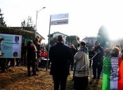 Varese dedica una strada ed un parco a Nelson Cenci