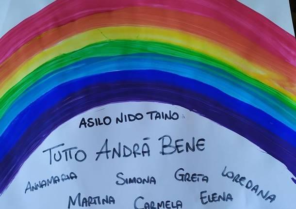 Gli arcobaleni a Taino