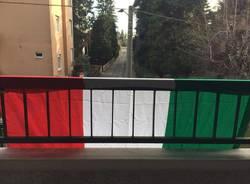 come va esposta la bandiera italiana