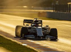 Formula Uno in pista nei test di Barcellona