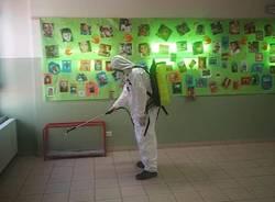 Castiglione Olona - Disinfezione scuole
