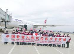 China Eastern Airlines a Malpensa coronavirus