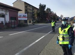 controllo vigili polizia locale di varese per coronavirus