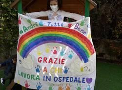Emilia ringrazia il personale dell'ospedale Del Ponte di Varese