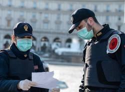 polizia controllo coronavirus