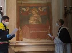 Gorla maggiore consacrato alla Madonna contro il coronavirus