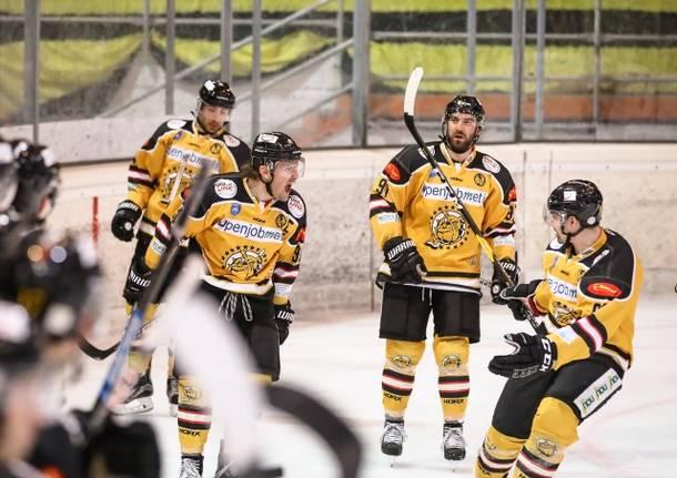 hockey su ghiaccio mastini varese caldaro playoff 2020