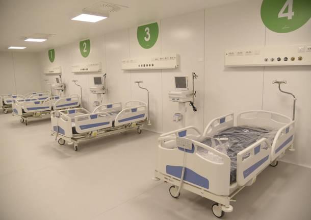 Il nuovo ospedale Covid 19 a FieraMilano