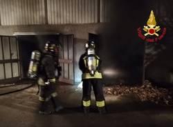 Incendio scuola media Galvaligi