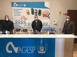 Maschere e protezioni per Busto da Agesp