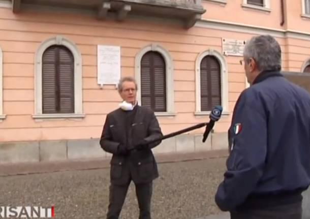 molgora intervistato dalla tv tedesca