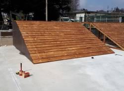 Skate Park Somma Lombardo cantiere