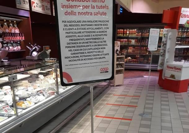 Supermercati coronavirus