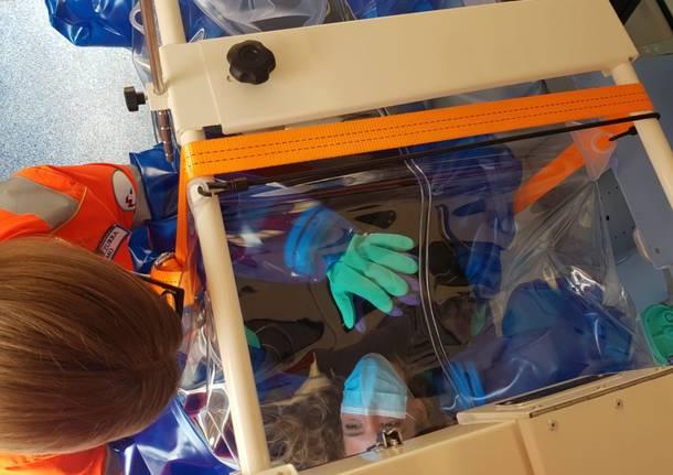 ambulanza biocontenitiva