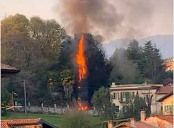 Besozzo e Brinzio - Gli interventi dei Vigili del fuoco